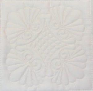 B12 Machine Embroidery Shell Fill Block